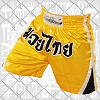 FIGHT-FIT - Muay Thai Shorts / Gelb / Medium