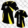FIGHTERS - Kick-Boxing Shirt / Competition / Schwarz / Medium