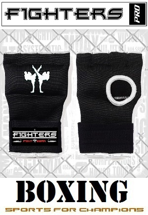 FIGHTERS - Guante interior / Fit / Negro / Small